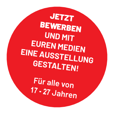 Roter Button mit Text